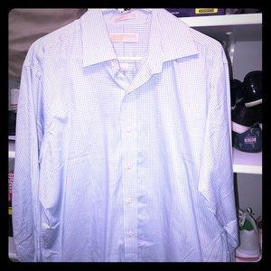 Sz L Michael Kors Button up Long Sleeve shirt